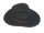 Hut Crushable, XL (60/61), schwarz