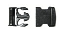 Buckle black for 50 mm Strap, Plug buckle, Belt buckle