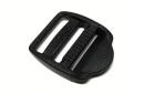 FASTEX - Schnalle für 25 mm Gurtband, schwarz