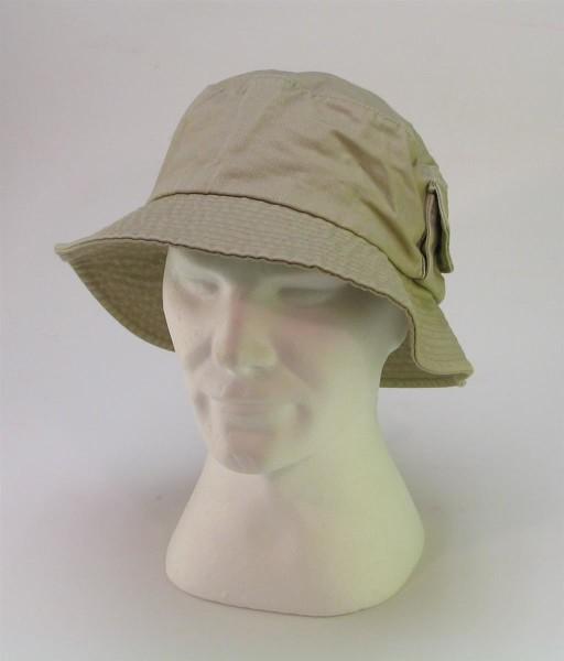 Basic Nature Hut, Outdoorhut, mit seitlicher Tasche, 100 % BW, Khaki, S