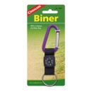 Coghlans biner with compass and key ring , assorted