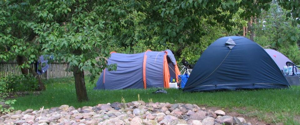 Zelte, Tarps und Camping